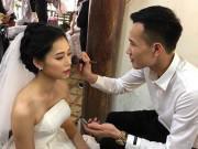 Làm đẹp - Trang điểm cho vợ trong ngày cưới, anh chồng trở thành hiện tượng MXH sau một đêm!