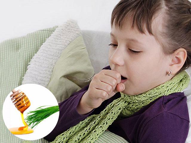 Những cách trị ho cho trẻ nhỏ bằng bài thuốc dân gian
