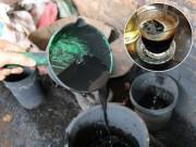 Tác hại   kinh hoàng   nếu uống phải cafe nhuộm bằng lõi pin