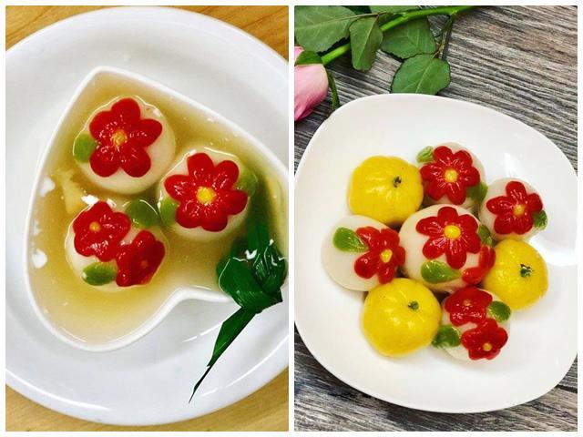 Mẹ đảm mách bí quyết làm bánh trôi hoa độc nhất vô nhị khiến Tết Hàn thực thêm rực rỡ