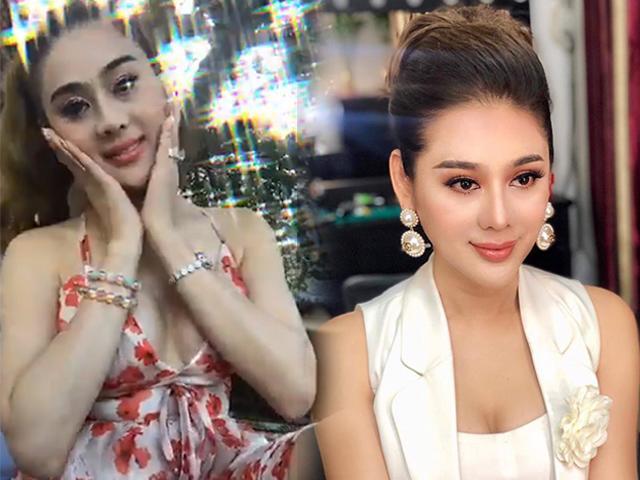 Nữ hoàng chuyển giới Lâm Khánh Chi để lộ diện mạo kém sắc trên livestream