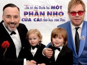 """Cách dạy con đức tính tiết kiệm với """"Ba lọ tiền xu"""" của ông bố đồng tính Elton John"""