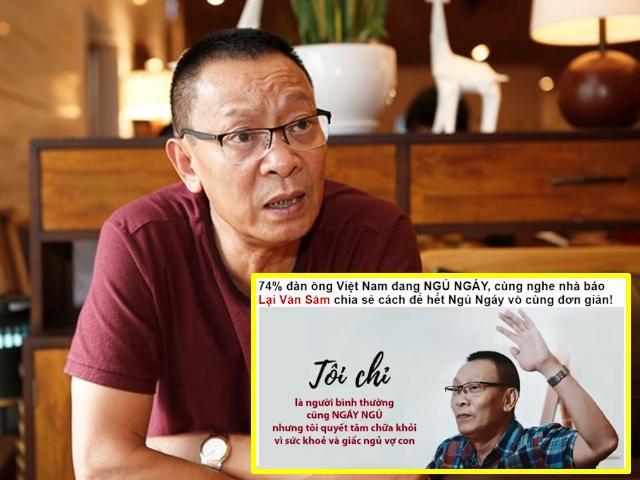 MC Lại Văn Sâm: Tôi dùng từ đê tiện cho những kẻ mượn hình ảnh của tôi để lừa đảo!