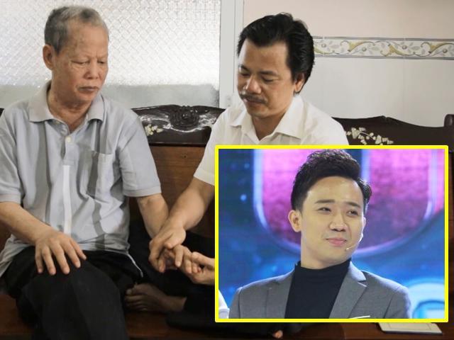 Người con trai 46 tuổi ngấn lệ hát cho cha già bị tai biến làm Trấn Thành cảm phục
