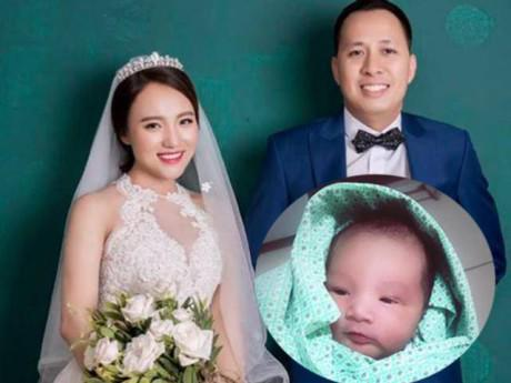 Quán quân Vietnam Idol 2014 Nhật Thủy sinh con trai đầu lòng