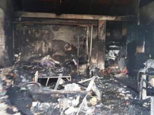 Cháy cửa hàng lúc rạng sáng, 3 mẹ con tử vong thương tâm ở Nam Định
