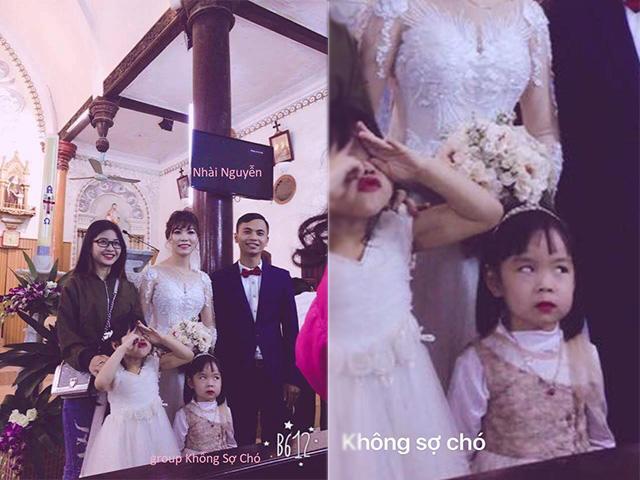 Bức ảnh hài nhất trong đám cưới và khoảnh khắc không dám nhìn vào đôi mắt ấy