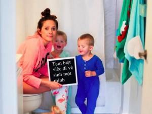 Bộ ảnh hài hước về những thay đổi khi trở thành mẹ được hội bỉm sữa thích thú đón nhận