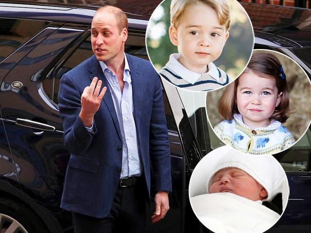 Vợ vừa sinh thêm con, Hoàng tử William cười tếu: Vậy là giờ tôi có tận 3 mối lo