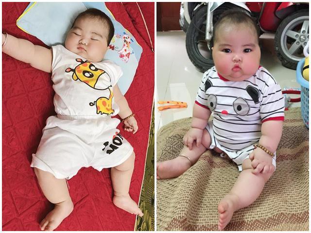 Bú mẹ hoàn toàn 6 tháng đầu, bé 11 tháng béo tròn, chắc nịch
