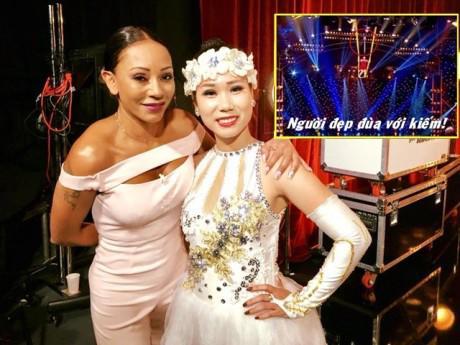 """Cô gái 9x Việt Nam nổi tiếng với màn """"đùa với kiếm"""" xuất hiện tại America's Got Talent 2018"""