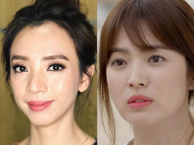 Thu Trang lầy lội nhận mình giống Song Hye Kyo, phanh phui quá khứ của loạt sao Việt