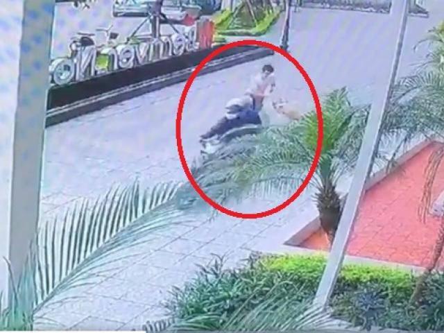 Kẻ gian cướp chó cưng trước sảnh chung cư, kéo lê người chủ hàng chục mét gây xôn xao MXH