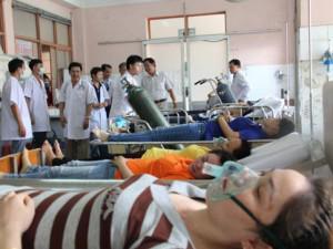 78 người dân trong một xã nhập viện cấp cứu nghi do uống nước nhiễm thuốc diệt cỏ