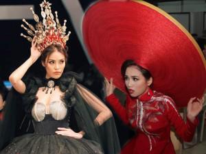 """Loạt thiết kế """"thách thức"""" sức chịu nặng của người mẫu trên sàn catwalk Việt!"""