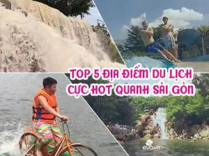 Top 5 địa điểm cực hot quanh phạm vi Sài Gòn