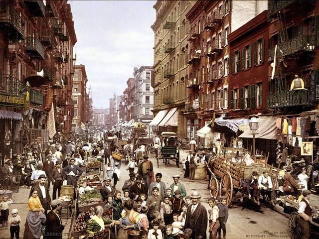 Ngỡ ngàng hình ảnh cách đây hàng trăm năm của các thành phố hiện đại trên thế giới