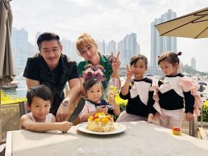 7 năm sinh 4 đứa con cho Trần Hạo Dân, Tưởng Lệ Sa lại có bầu đứa thứ 5?