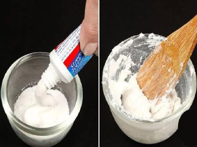 Trộn kem đánh răng với baking soda, được thứ dung dịch vạn năng bà nội trợ nào cũng muốn có