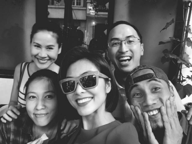Tăng Thanh Hà cùng hội bạn thân động viên vợ chồng Phạm Anh Khoa giữa tâm bão