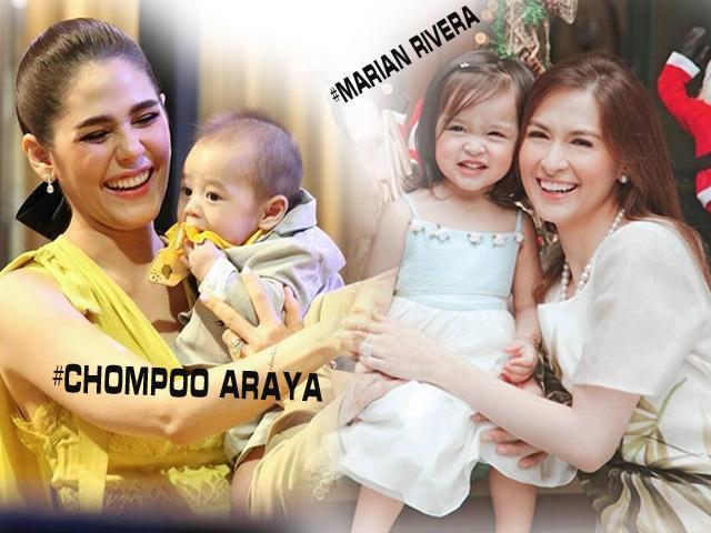 Cuộc sống làm mẹ đầy viên mãn của 2 mỹ nhân đẹp nhất Thái Lan và Philippines