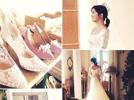 """Ngôi sao 24/7: Sau 17 năm gia nhập showbiz, """"ma cà rồng"""" Jang Nara bất ngờ mặc váy cưới"""