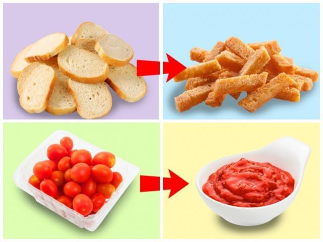 Nếu ghét cay đắng sự lãng phí, chị em có thể tận dụng thực phẩm thừa với 10 mẹo này