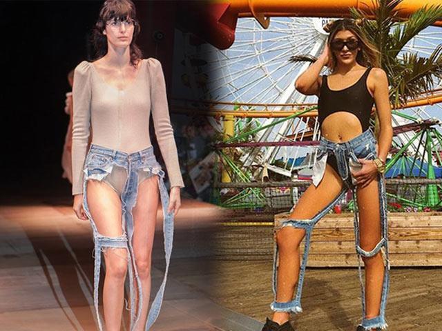 Quần jeans tưởng vứt không ai thèm lấy lại bán đắt như tôm tươi