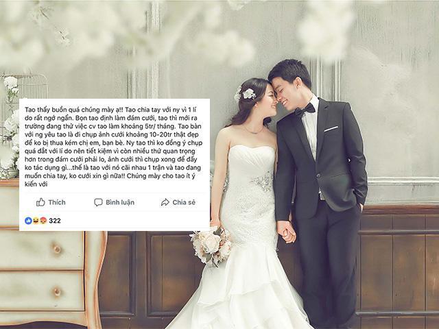 Đòi chụp ảnh cưới 20 triệu cho bằng chị, bằng em, cô gái nhận phản ứng dữ dội