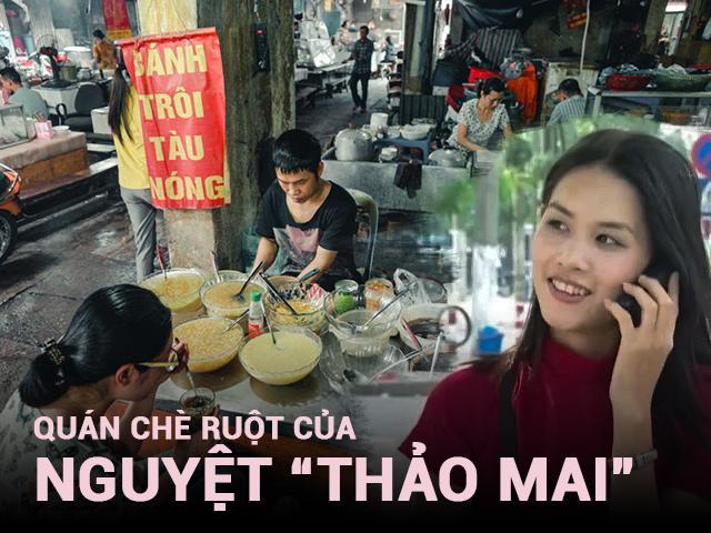 Chủ quán chè ruột của Nguyệt thảo mai tiết lộ lý do nữ diễn viên đòi ăn thêm trân châu