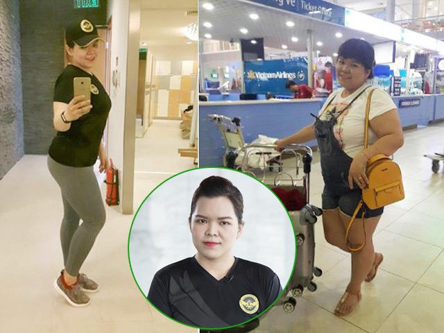 Huỳnh Bối Mẫn và bí quyết giảm cân thành công 43kg trong 6 tháng