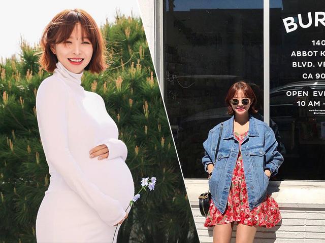 1001 bà bầu Hàn Quốc lên dây cót cho các mẹ vì mang thai vẫn đẹp ngút ngàn