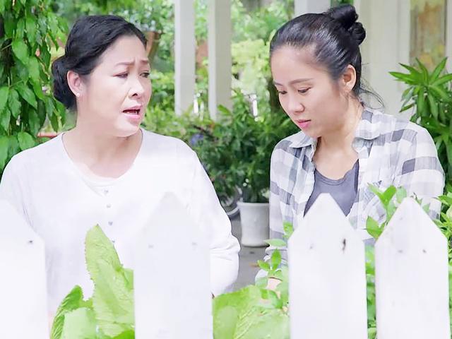 Vừa thành con của NSND Hồng Vân, Lê Phương khóc hết nước mắt vì bị ghẻ lạnh