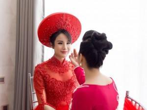 Bình thường mắt khói môi trầm, đến đám cưới, Diệp Lâm Anh lại hiền như cô Tấm!
