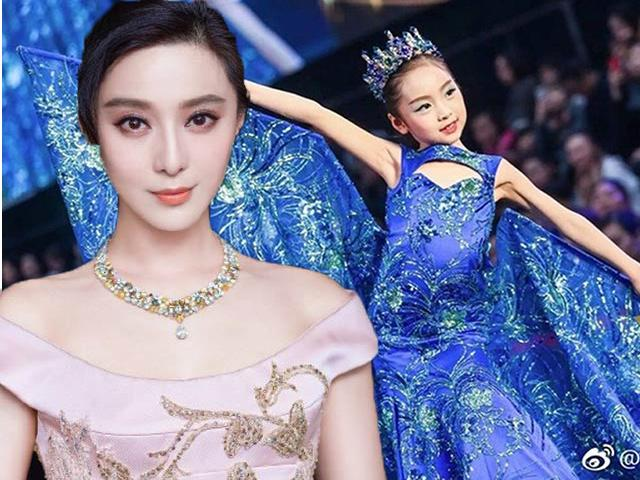 Chân dung cô em họ 7 tuổi xinh đẹp của Phạm Băng Băng tài năng chẳng kém chị