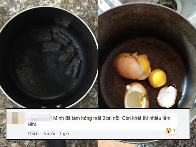 Các mẹ hài hước chia sẻ thành tích diệt nồi vì chứng não cá vàng sau sinh