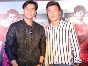 Sau ồn ào làm mẫu, Bùi Tiến Dũng cùng em trai đi xem phim về bóng đá Việt Nam