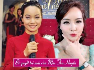 """Bà mẹ 2 con Mai Thu Huyền lần đầu tiết lộ bí quyết... """"trẻ mãi không già"""""""