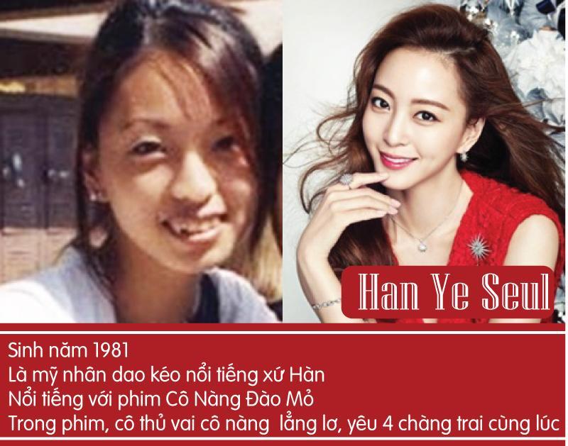 Han Ye Seul là người đẹp dao kéo nổi tiếng và hấp dẫn bậc nhất xứ Hàn.