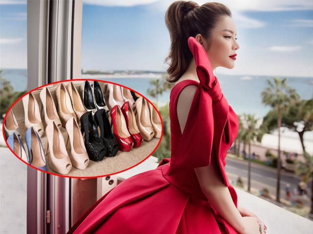 Lý Nhã Kỳ mang đến 12 đôi giày cao gót để sải bước trên thảm đỏ LHP Cannes 2018