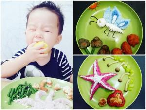Mẹ Việt ở Indonesia khéo tay trang trí món ăn trị dứt điểm chứng biếng ăn của 3 con