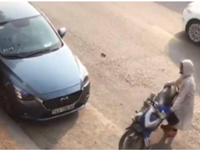 Nghi chồng ngoại tình, người vợ nhốt tình địch 21 tuổi trong xe hơi để... đánh ghen