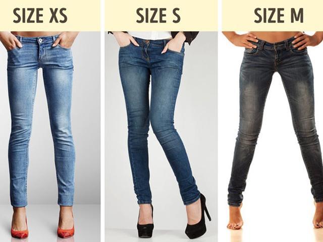 Mách chị em mẹo chọn size quần áo thật chuẩn khi mua hàng qua mạng