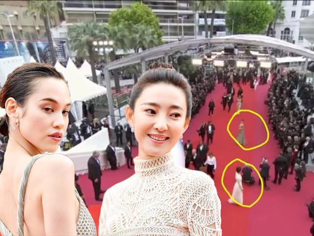 Dân mạng khen chân dài Nhật Bản đẹp thần sầu không ngờ cô bám riết 9 phút thảm đỏ Cannes
