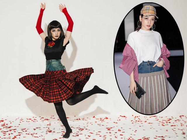 Chi Pu bê luôn 20 chiếc váy từng bị chê là thảm họa vào MV mới