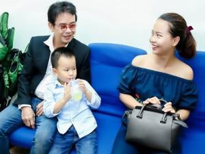 Nhạc sĩ 71 tuổi Đức Huy nhắc đến niềm vui có con gái thứ 2 cùng vợ kém 44 tuổi