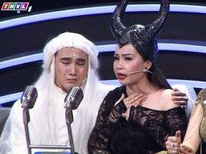 Cẩm Ly, Huỳnh Lập nấc nghẹn trong nước mắt khi lần đầu kể về cha mẹ trên sóng truyền hình
