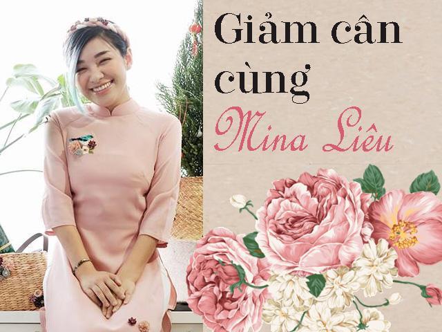 Từng khổ sở vì cân nặng, Mina Liêu áp dụng thực đơn giải khát giảm 4 kg trong 12 ngày!