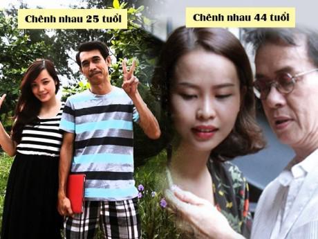 3 sao Việt lấy vợ từng là fan của mình, lại chênh nhau đến hàng chục tuổi