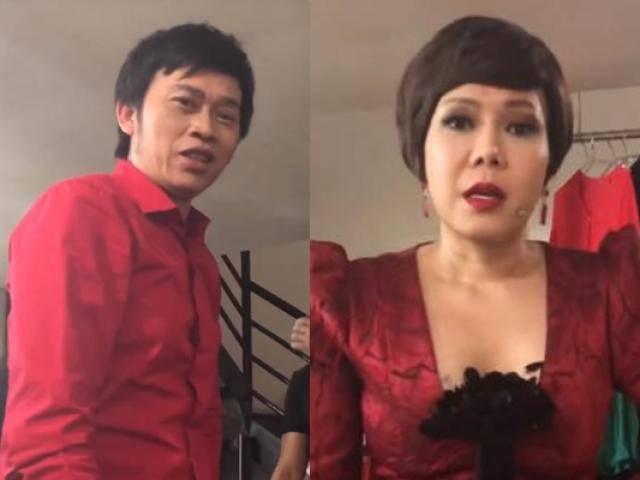 Trả thù Việt Hương thành công, nửa phút sau Trấn Thành phải câm nín trước Hoài Linh